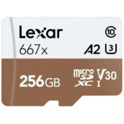 Lexar Professional 667x microSDXC mit 256GB für 34,99€ (statt 61€)