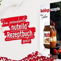 Mit dem Kauf von Nutella ein personalisiertes Rezeptbuch gratis abstauben