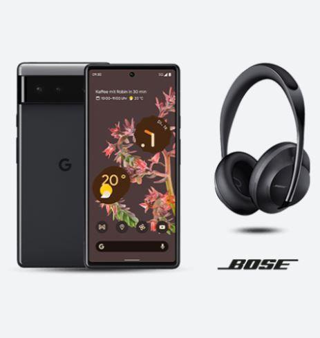 Google Pixel 6 + Bose Headphones 700 für 639€ (statt 912€) -Vorbestellung