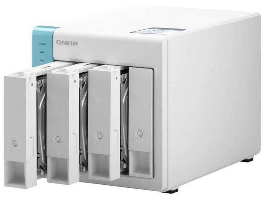 QNAP Systems TS 431P3 4G NAS Leegehäuse für 319,99€ (statt 392€)