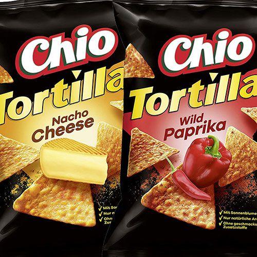 10x Chio Tortilla Chips (je 125g) mit Nacho Cheese, Wild Paprika oder Salted ab 7,92€ (statt 16€) – Prime