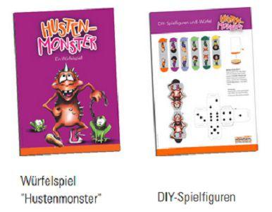 Ratiopharm: Würfelspiel Hustenmonster gratis abholen