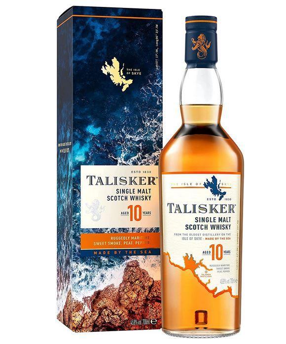 Talisker 10 Jahre Single Malt Scotch Whisky 700ml für 24,29€ (statt 35€)