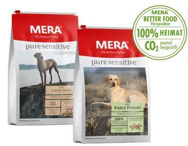 Gratis: MERA pure sensitive Hundefutter Probierpaket