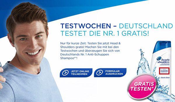 head and shoulders gratis testen
