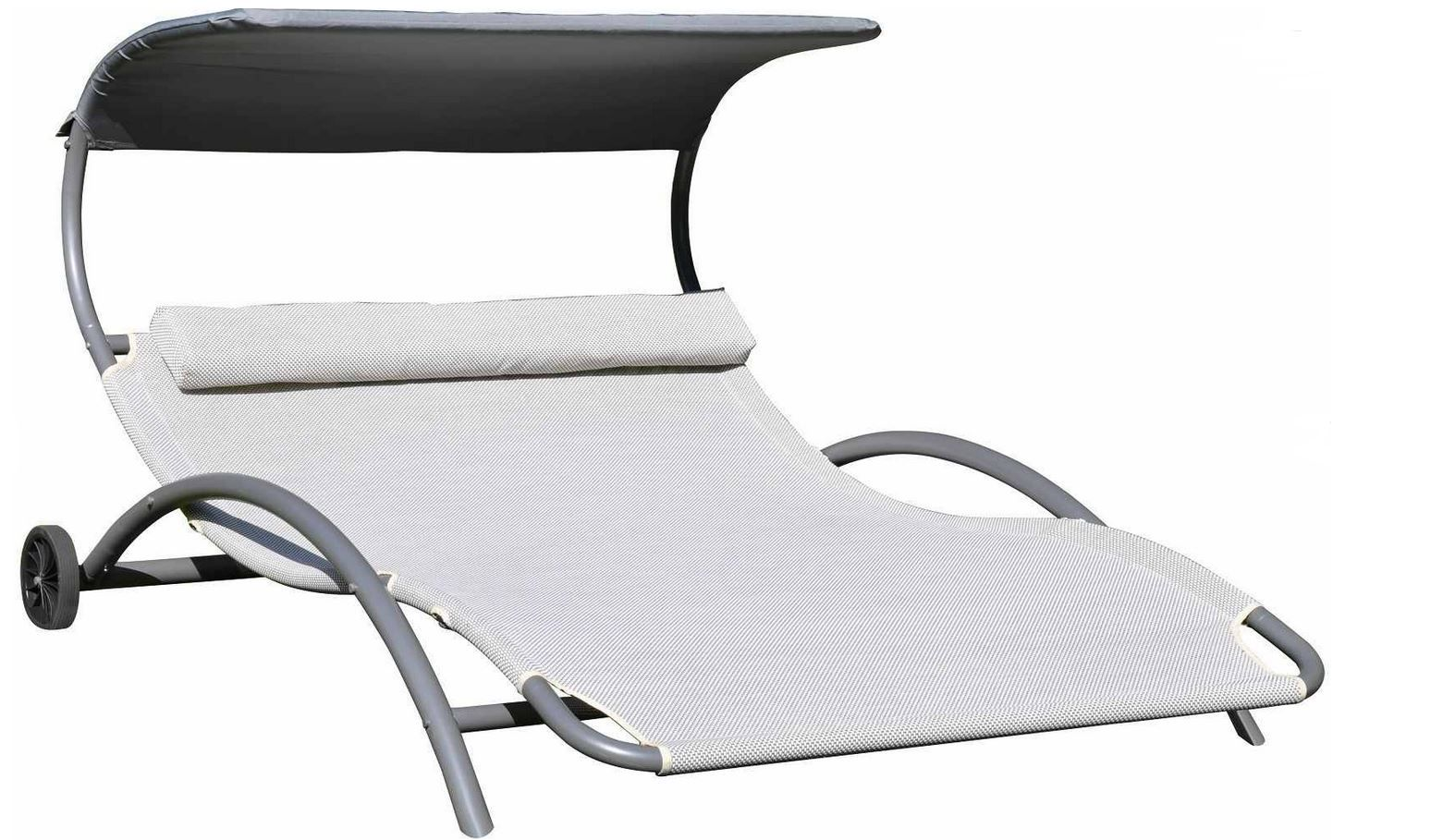 leco 2 personen sonnenliege f r 99 95. Black Bedroom Furniture Sets. Home Design Ideas