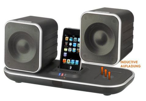 muvid i fi 90 drahtlose lautsprecher f r ipod iphone f r. Black Bedroom Furniture Sets. Home Design Ideas