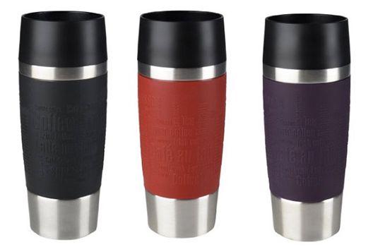 emsa travel mug thermobecher in 3 farben f r je 14 statt. Black Bedroom Furniture Sets. Home Design Ideas