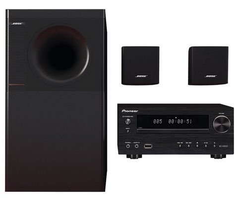 bose acoustimass 3 stereo lautsprecher pioneer x hm51 k. Black Bedroom Furniture Sets. Home Design Ideas
