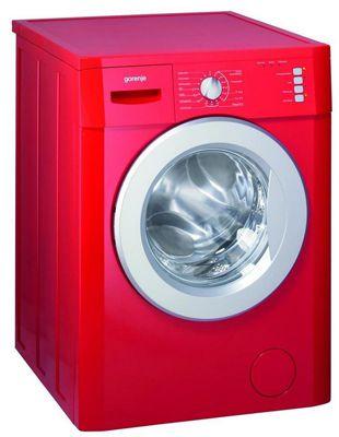 gorenje wa 735 rd waschmaschine mit 7kg und a in rot. Black Bedroom Furniture Sets. Home Design Ideas