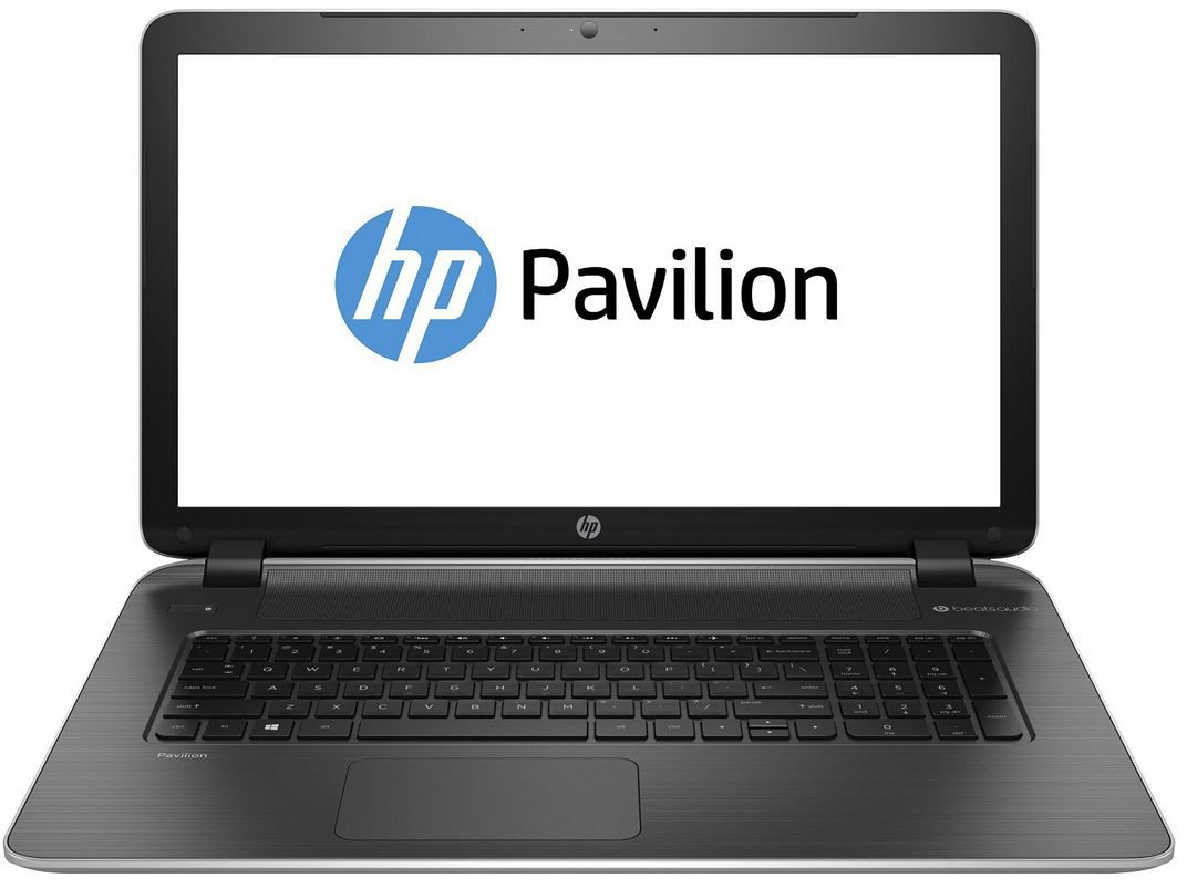 hp pavilion 17 f153ng 17 zoll notebook mit amd cpu 8gb. Black Bedroom Furniture Sets. Home Design Ideas