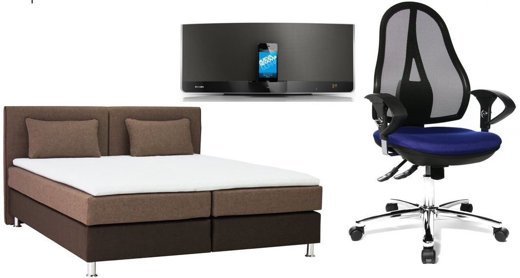 b famous boxspringbett f r 549 bei den 34 amazon oster. Black Bedroom Furniture Sets. Home Design Ideas