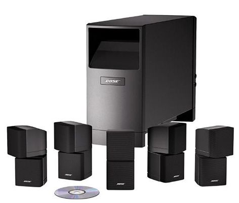bose acoustimass 10 series iv 5 1 lautsprecher system. Black Bedroom Furniture Sets. Home Design Ideas