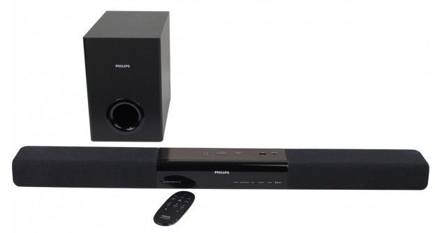 philips htl2160 bluetooth soundbar mit subwoofer f r 79 98. Black Bedroom Furniture Sets. Home Design Ideas