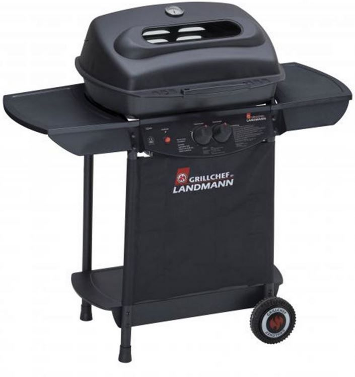 landmann grillchef 12344 test kleinster mobiler gasgrill. Black Bedroom Furniture Sets. Home Design Ideas