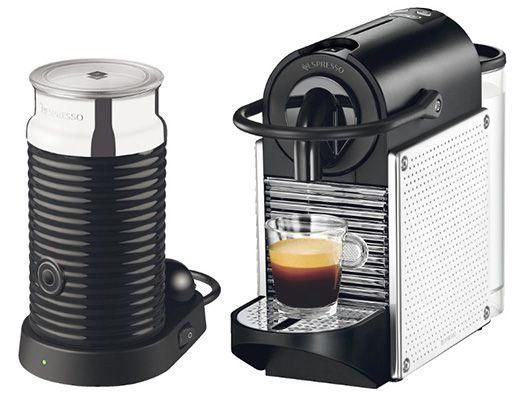 delonghi pixie en 125 mae nespresso maschine mit milchaufsch umer ab 114. Black Bedroom Furniture Sets. Home Design Ideas