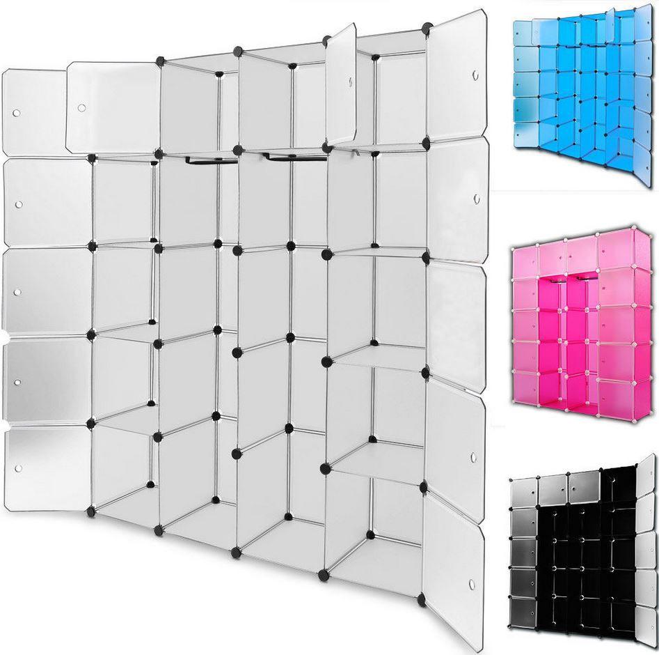 kesser kunststoffboxen regalbauset mit 600 litern f r 26 82 statt 33 bzw litern f r. Black Bedroom Furniture Sets. Home Design Ideas