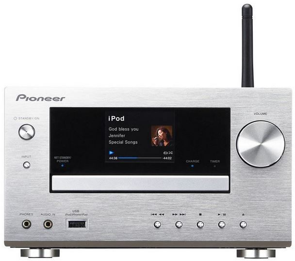 pioneer xc hm81 s micro hifi system mit wifi airplay. Black Bedroom Furniture Sets. Home Design Ideas