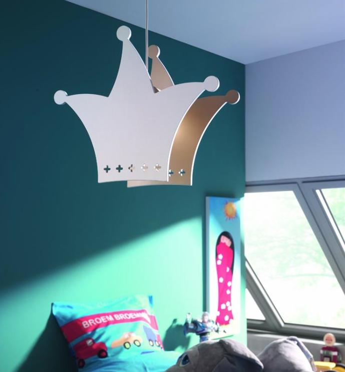 krone kinderzimmer h ngelampe philips f r 11 79 inkl versand. Black Bedroom Furniture Sets. Home Design Ideas