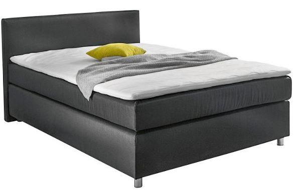 boxspringbett von carryhome 140 x 200 cm f r 299. Black Bedroom Furniture Sets. Home Design Ideas