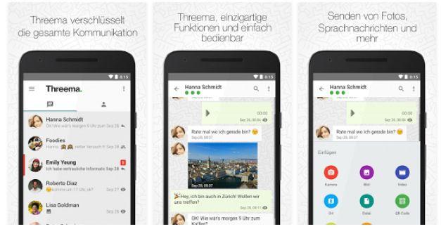 threema messenger ios android windows mobile heute ab. Black Bedroom Furniture Sets. Home Design Ideas