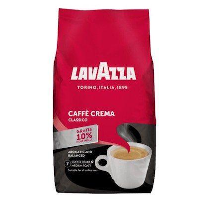 lavazza caff crema classico ganze bohnen 1kg f r 9 99. Black Bedroom Furniture Sets. Home Design Ideas