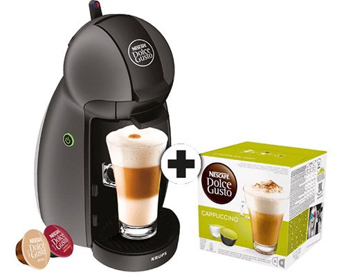 krups dolce gusto maschine 8 cappuccino kapseln f r 19. Black Bedroom Furniture Sets. Home Design Ideas