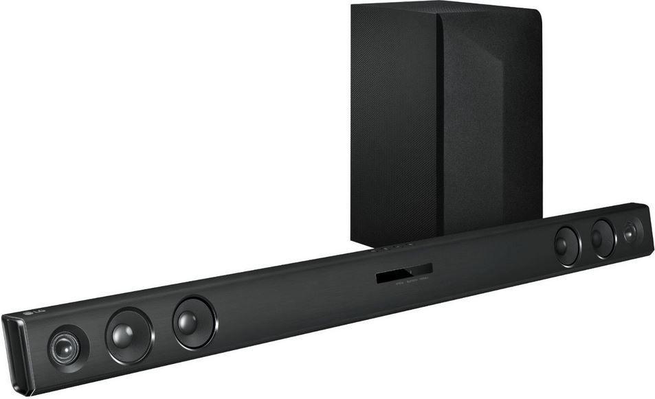 lg lac553b bluetooth soundbar f r 119. Black Bedroom Furniture Sets. Home Design Ideas