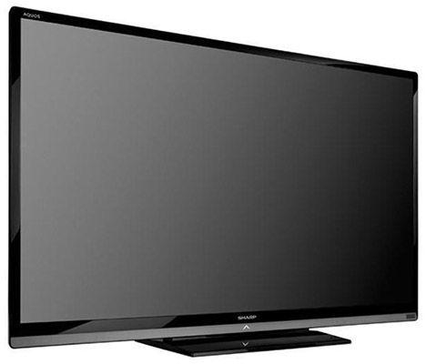 sharp lc 80le657e 80 zoll 3d full hd fernseher f r statt. Black Bedroom Furniture Sets. Home Design Ideas