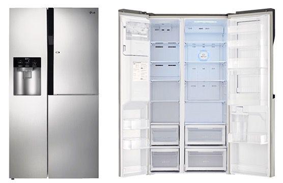 lg gs9366pzyzd side by side k hl gefrierkombi f r. Black Bedroom Furniture Sets. Home Design Ideas