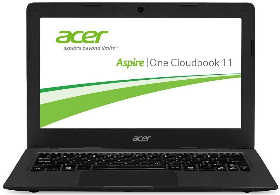 acer aspire one cloudbook 11 ao1 131 c58k 11 6 zoll. Black Bedroom Furniture Sets. Home Design Ideas