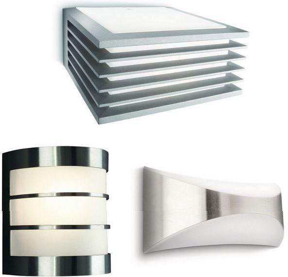 philips garten und wandleuchten f r je nur 14 95 top. Black Bedroom Furniture Sets. Home Design Ideas