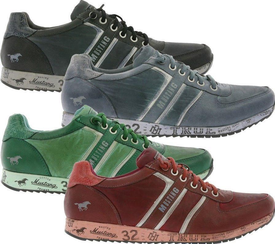 mustang herren sneaker 4 farben f r je nur 22 90. Black Bedroom Furniture Sets. Home Design Ideas
