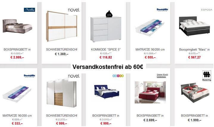 xxxlutz online shop heute ohne versandkosten ab 60. Black Bedroom Furniture Sets. Home Design Ideas