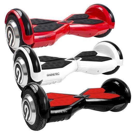 ninetec sonic x8 hoverboard mit max 20km h f r 249 99. Black Bedroom Furniture Sets. Home Design Ideas