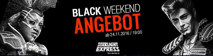 los geht 39 s starlight express tickets pk 1 und pk 2 ab 40 statt 100. Black Bedroom Furniture Sets. Home Design Ideas