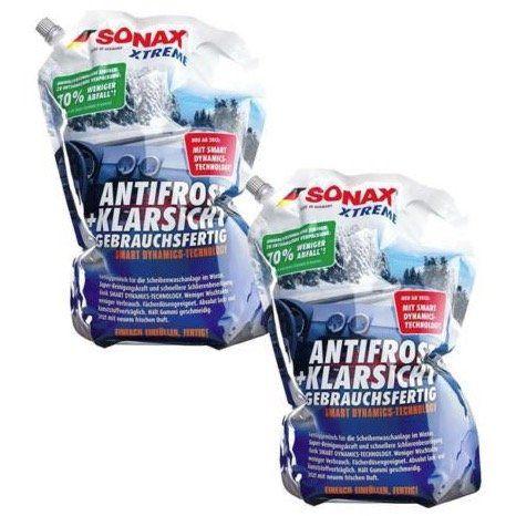 6 liter sonax xtreme antifrost klarsicht gebrauchsfertig. Black Bedroom Furniture Sets. Home Design Ideas