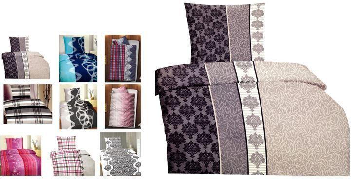leonado vicenti kuschelige microfaser bettw sche garnitur im doppelpack. Black Bedroom Furniture Sets. Home Design Ideas