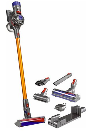 dyson v8 absolute handstaubsauger f r 422 10 statt 470. Black Bedroom Furniture Sets. Home Design Ideas