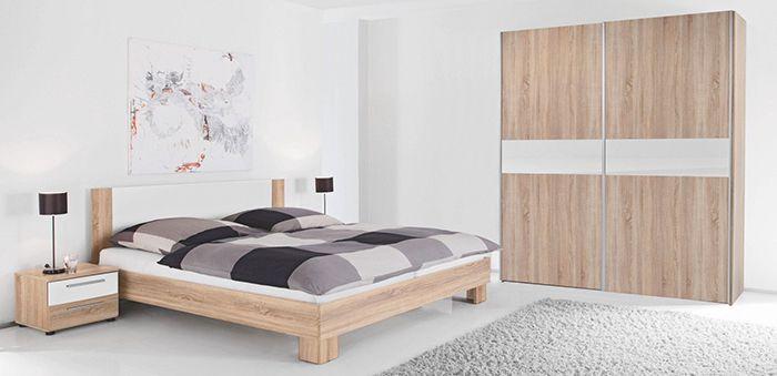 knaller komplettes carryhome schlafzimmer bett schrank tische f r 299 vsk frei. Black Bedroom Furniture Sets. Home Design Ideas