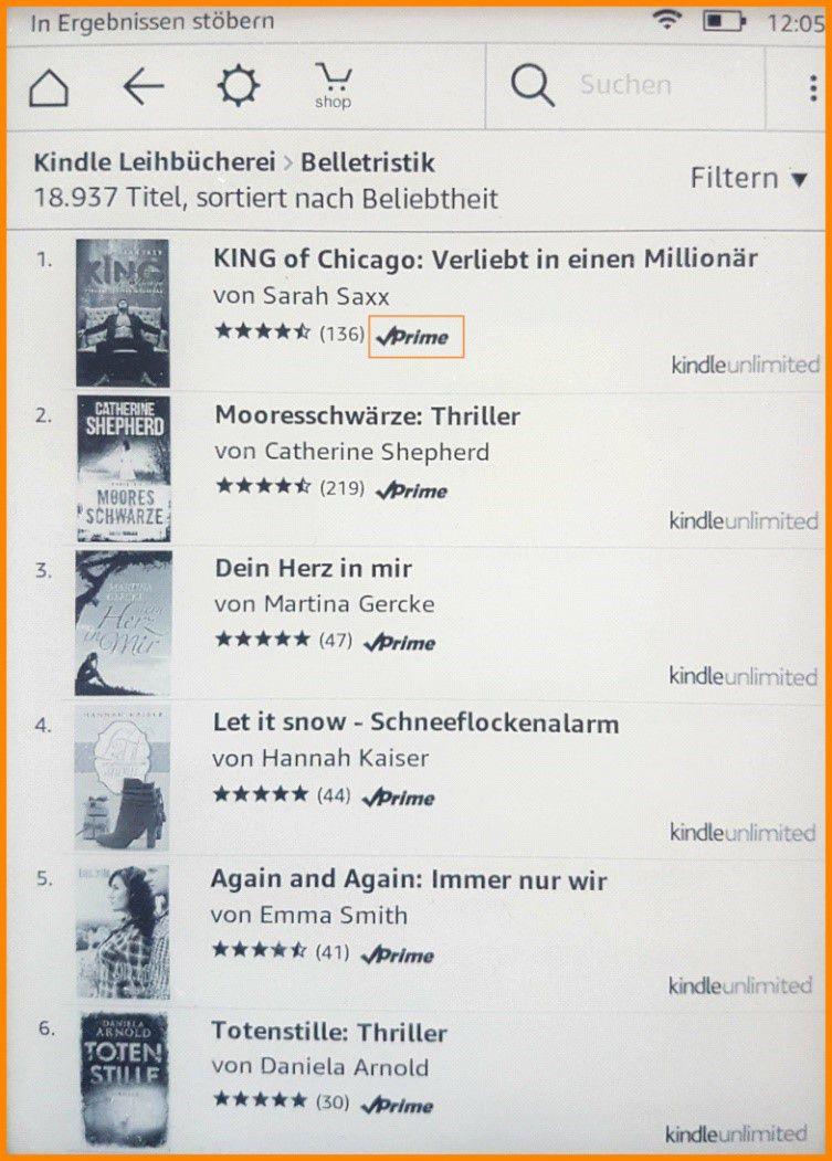 Kostenlose Bücher Kindle Amazon Prime