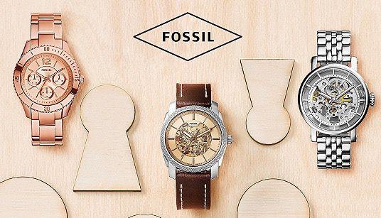 fossil damen und herren uhren bei vente privee z b. Black Bedroom Furniture Sets. Home Design Ideas