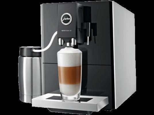 jura 13778 impressa a5 kaffeevollautomat mit aroma mahlwerk f r 599 statt 748. Black Bedroom Furniture Sets. Home Design Ideas
