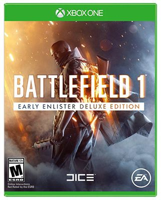 battlefield 1 early enlister deluxe edition xbox one. Black Bedroom Furniture Sets. Home Design Ideas