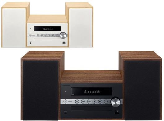 pioneer x cm56 w micro hifi anlage mit cd bluetooth. Black Bedroom Furniture Sets. Home Design Ideas