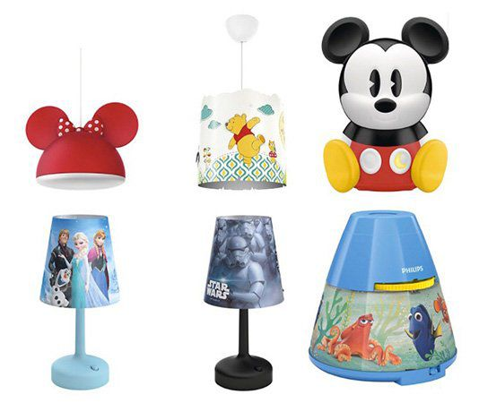 g nstige disney lampen von philips bei vente privee z b minnie mouse pendelleuchte ab 22. Black Bedroom Furniture Sets. Home Design Ideas
