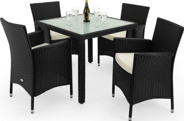 deuba poly rattan sitzgruppe f r 175 95 statt 220. Black Bedroom Furniture Sets. Home Design Ideas