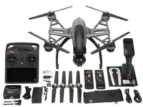 yuneec typhoon q500 drohne mit 4k kamera inkl 2 akkus. Black Bedroom Furniture Sets. Home Design Ideas