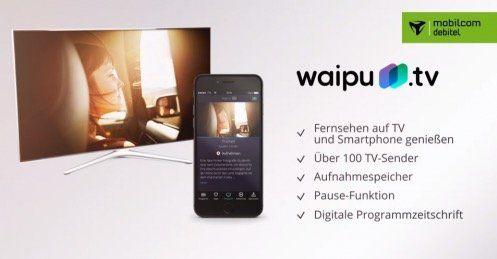 schnell 3 monate waipu tv fernsehen ber internet kostenlos sonst 30. Black Bedroom Furniture Sets. Home Design Ideas