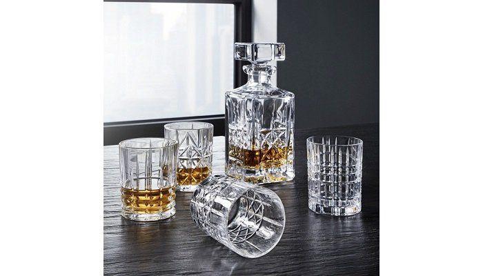 4er set spiegelau nachtmann whiskygl ser karaffe f r 33 85 statt 51. Black Bedroom Furniture Sets. Home Design Ideas